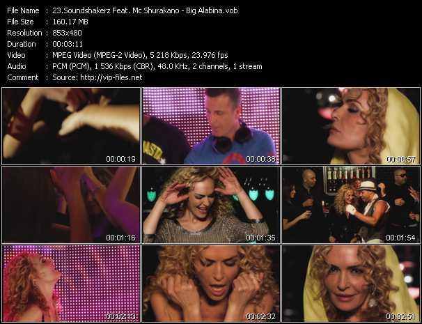 download Soundshakerz Feat. Mc Shurakano « Big Alabina » video vob