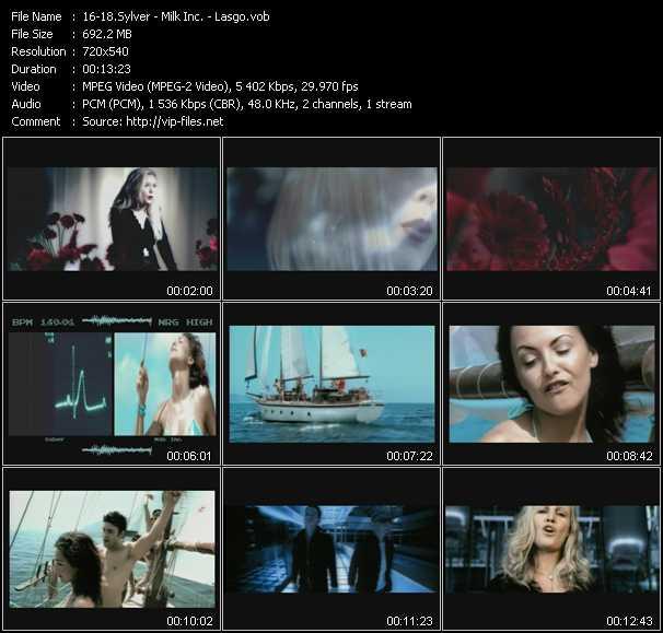 download Sylver - Milk Inc. - Lasgo « Turn The Tide (Original Edit) - Walk On Water 2002 (Peter Luts Edit) - Alone (Extended Edit) » video vob