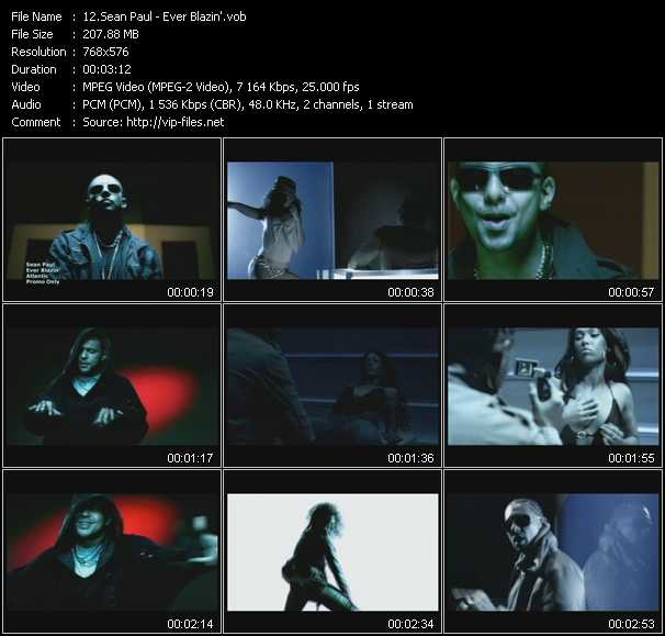 video Ever Blazin' screen