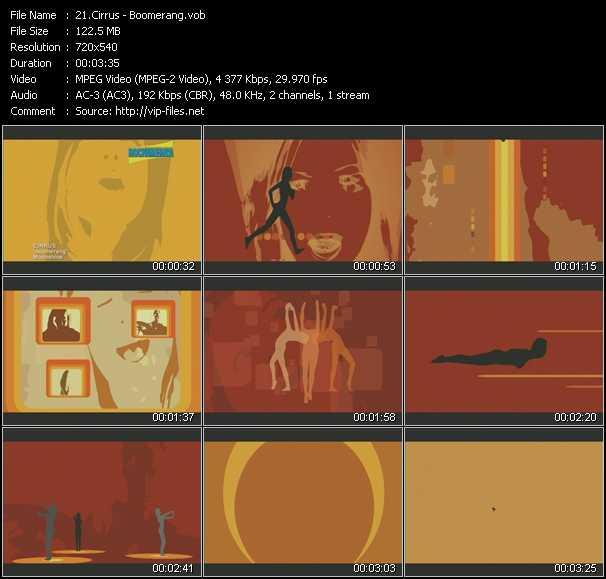 download Cirrus « Boomerang » video vob