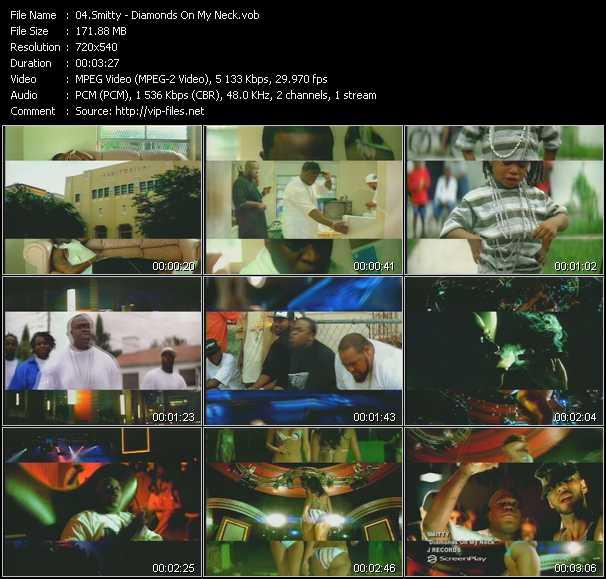 download Smitty « Diamonds On My Neck » video vob
