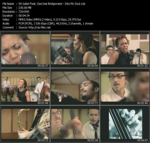 download Gabin Feat. Dee Dee Bridgewater « Into My Soul » video vob